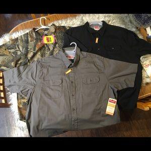 2XL men's shirt bundle of 3/ wrangler /Winchester